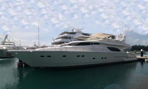 Image of Ferretti 80 for sale in Singapore for $1,000,000 (£756,773) Singapore
