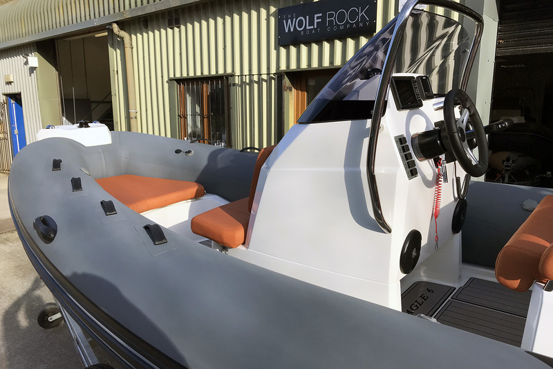 Brig Eagle 6 - ORCA Hypalon Fabric Impression for sale in