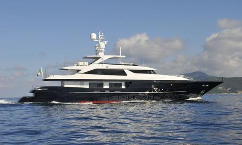 Image of Sanlorenzo 46 steel for sale in Hong Kong for €14,950,000 (£13,168,210) Hong Kong