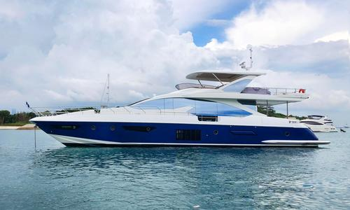 Image of Azimut Yachts 80 for sale in Singapore for €2,650,000 (£2,266,837) Singapore