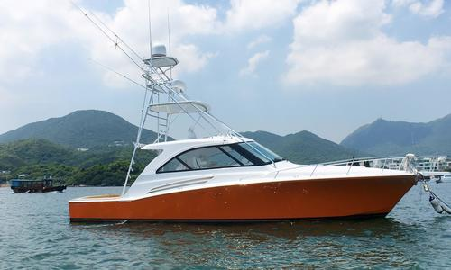 Image of Hatteras 45 Express Sportfish for sale in Hong Kong for $1,180,000 (£961,930) Hong Kong