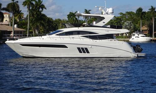 Image of Sea Ray L590 Fly for sale in United States of America for $1,660,000 (£1,303,423) North Miami Beach, FL, United States of America