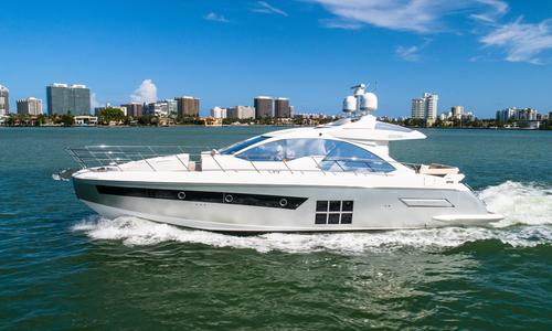 Image of Azimut Yachts 55S for sale in United States of America for $879,000 (£715,885) North Miami Beach, FL, United States of America
