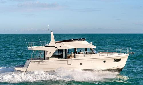 Image of Beneteau Swift Trawler 47 for sale in Singapore for €752,624 (£676,559) Singapore