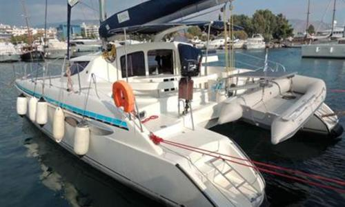 Image of Fountaine Pajot Lavezzi 40 for sale in Greece for €167,000 (£145,002) Greece
