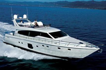 Ferretti 680 for sale in Greece for €590,000 (£532,707)