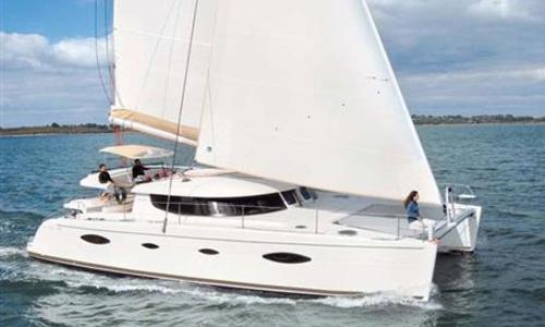 Image of Fountaine Pajot Salina 48 for sale in Greece for €415,000 (£346,341) Greece