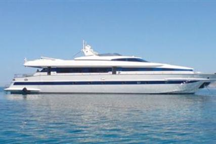 Tecnomarine 90 for sale in Greece for €800,000 (£694,306)