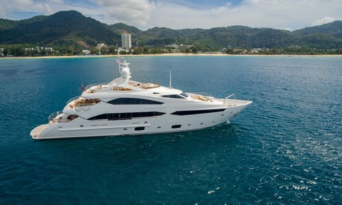 Image of Sunseeker 131 Yacht for sale in Thailand for $8,950,000 (£6,743,927) Phuket,, Thailand