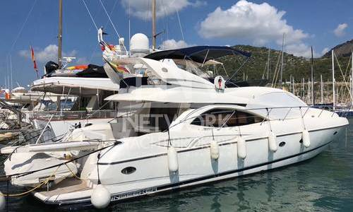 Image of Sunseeker Manhattan 64 for sale in Spain for €390,000 (£336,604) Menorca, Spain
