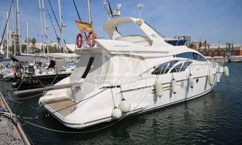 Image of Azimut Yachts 50 Flybridge for sale in Spain for €380,000 (£338,904) Barcelona, Spain