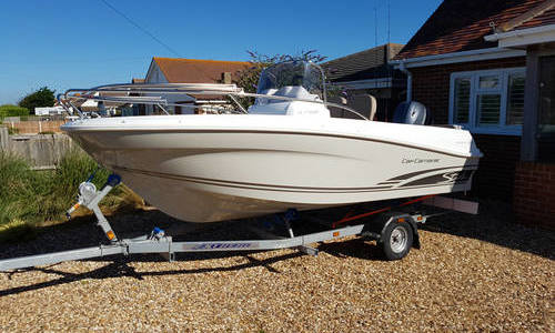 Image of Jeanneau Cap Camarat 4.7 CC for sale in United Kingdom for £18,500 Nr. Chichester, West Sussex., United Kingdom