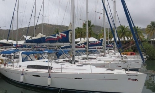 Image of Beneteau Oceanis 50 Family for sale in Antigua and Barbuda for $189,000 (£149,349) ANTIGUA, Antigua and Barbuda