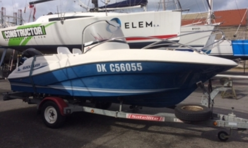 Image of Quicksilver 555 Commander for sale in France for €10,000 (£8,557) DUNKERQUE, France