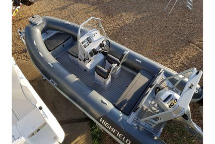 Highfield Aluminium RIB Ocean Master 540 DL for sale in United Kingdom for £26,995
