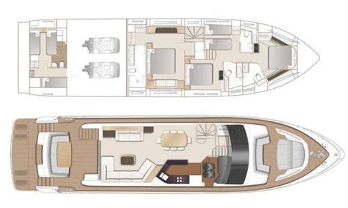 Image of Princess 75 for sale in Monaco for £2,895,000 Monaco