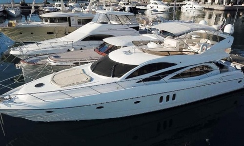 Image of Sunseeker Manhattan 64 MKII for sale in Montenegro for €399,000 (£354,484) Tivat, , Montenegro