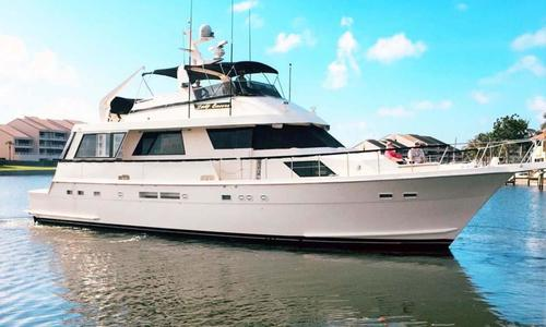Image of Hatteras 67 Cockpit Motor Yacht for sale in United States of America for $299,000 (£215,590) Saint Petersburg, Florida, United States of America