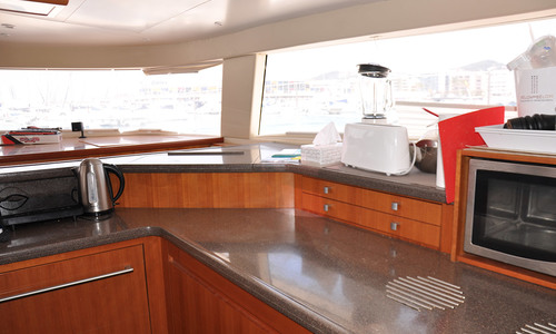 Image of Foutaine Pajot Galathea 65 for sale in Spain for €1,050,000 (£944,457) Spain
