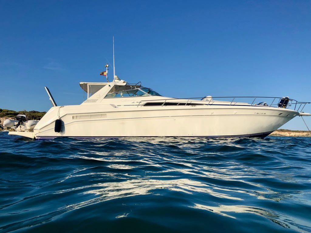 Sea Ray 480 Sundancer For Sale In Spain For 50 000