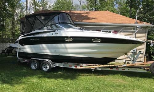 Image of Crownline 250 CR for sale in United States of America for $36,000 (£28,768) Newburgh, New York, United States of America