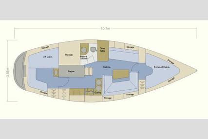 Moody 346 Bilge Keel for sale in United Kingdom for £42,000