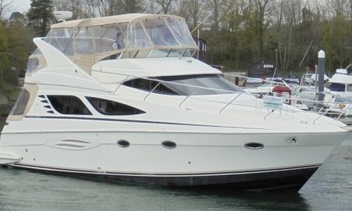 Image of Silverton 43 Sport Bridge for sale in United Kingdom for £139,950 Hamble River Boat Yard, United Kingdom