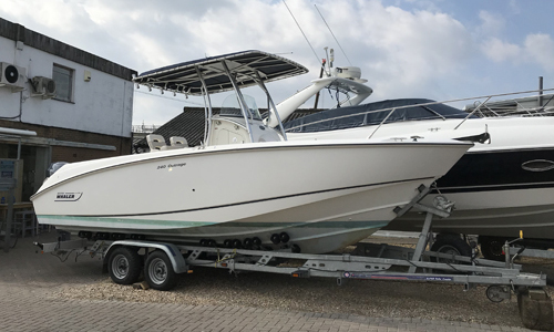Image of Boston Whaler 240 Outrage for sale in United Kingdom for £44,250 Dorset, United Kingdom