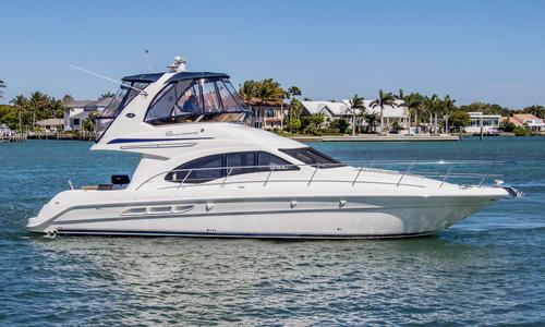 Image of Sea Ray 420 Sedan Bridge for sale in United States of America for $229,000 (£187,275) Sarasota, Florida, United States of America