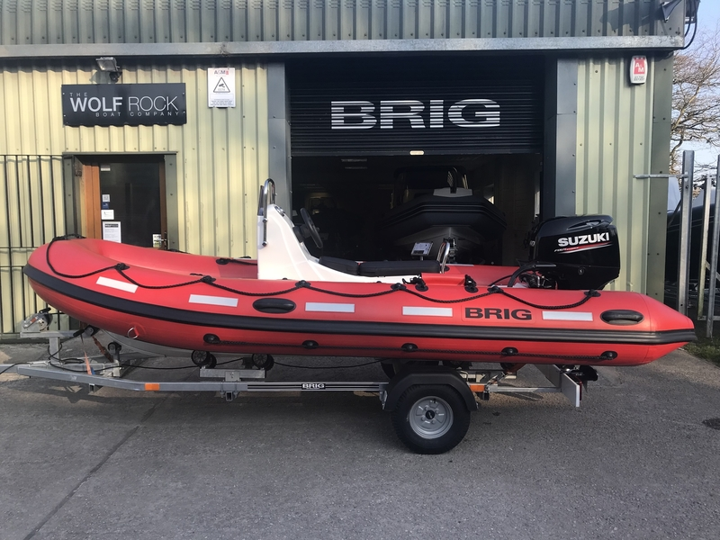 Brig Falcon 450HS Safety Series - ORCA Hypalon for sale in