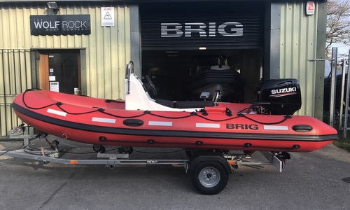 Image of Brig Falcon 450HS Safety Series - NEW 2020 - ORCA Hypalon for sale in United Kingdom for £13,695 South West, United Kingdom