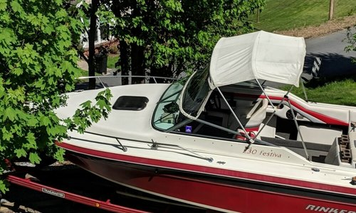 Image of Rinker Festiva Vee 230 for sale in United States of America for $8,750 (£6,658) Brunswick, Maryland, United States of America