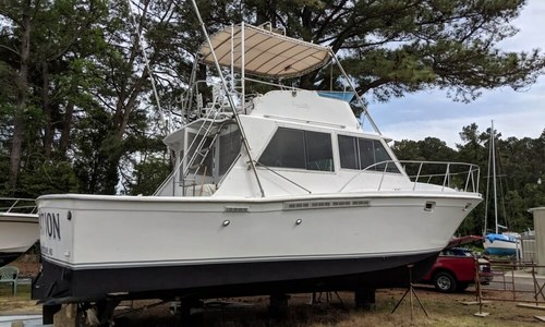 Image of Uniflite 38 Convertible for sale in United States of America for $49,000 (£38,145) Ridge, Maryland, United States of America