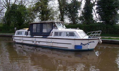 Image of Creighton GRP Motor Cruiser for sale in United Kingdom for £16,000 Alvechurch Marina, United Kingdom
