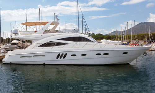 Image of Sealine T60 for sale in France for €399,950 (£353,216) Corsica, France