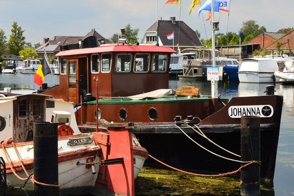 Ex Sleepboot 1700 for sale in Belgium for 31 000 € (27 751 £)