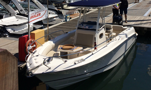 Image of Boston Whaler 230 Outrage for sale in United Kingdom for £89,500 United Kingdom
