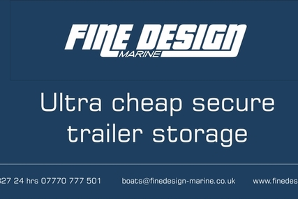 Trailer boat  storage at very low cost for sale in United Kingdom for £100