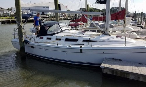 Image of Hunter 38 for sale in United States of America for $99,900 (£72,207) Yorktown, Virginia, United States of America