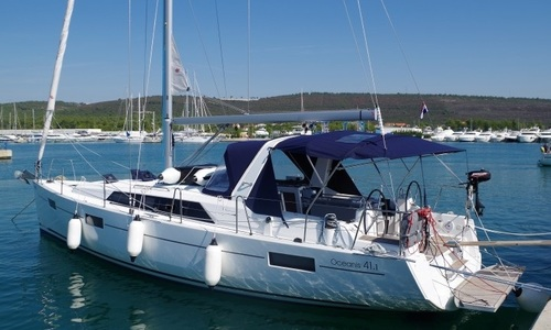 Image of Beneteau Oceanis 41.1 for sale in Croatia for €170,000 (£145,924) Dalmatia (, Croatia