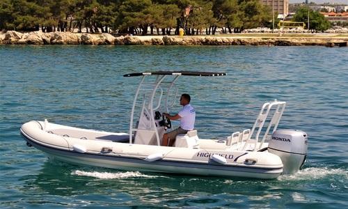 Image of Highfield Patrol 600 for sale in Croatia for €41,000 (£35,421) Dalmatia (, Croatia