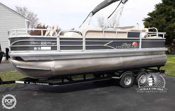 Sun Tracker 22 DLX Fishin Barge For Sale In United States Of