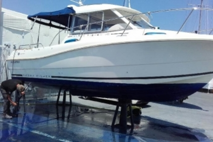 Jeanneau Merry Fisher 725 for sale in France for €35,000 (£31,336)
