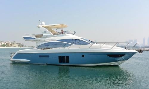 Image of Azimut Yachts 53 Fly Motor Yacht for sale in United Arab Emirates for $775,000 (£598,225) United Arab Emirates