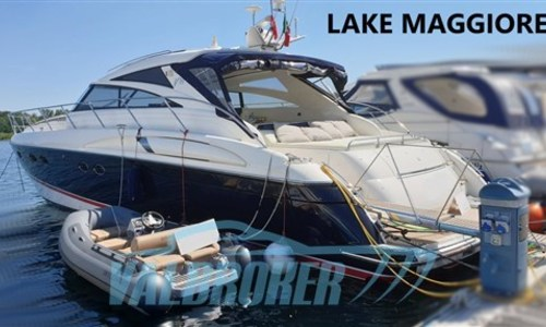 Image of Princess V58 for sale in Italy for €375,000 (£322,683) Lago Maggiore, Italy