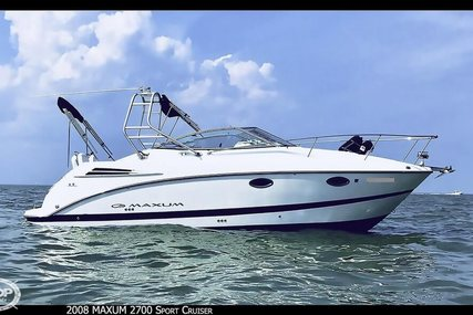 Maxum 2700 Sport Cruiser for sale in United States of America for $49,900 (£39,624)