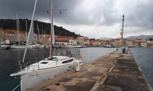 Image of Jeanneau Sun Odyssey 389 for sale in  for €120,000 (£109,996) Luštica Bay, Tivat, Montenegro,