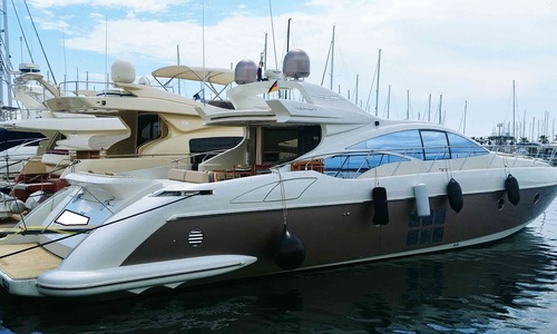 Image of Azimut Yachts 68 S for sale in Croatia for €599,000 (£541,880) Croatia