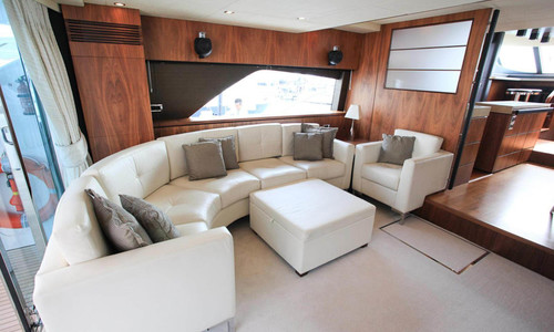 Image of Fairline Squadron 78 for sale in Italy for €1,395,000 (£1,239,361) Genoa, Italy