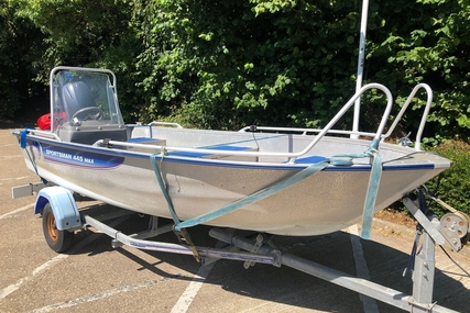 LINDER Sportsman 445 Max - Yamaha F30 for sale in United Kingdom for £7,250